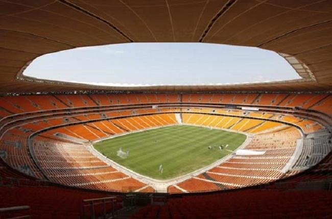 Sân vận động Soccer City, Johannesburg, Nam Phi với gần 95 nghìn chỗ