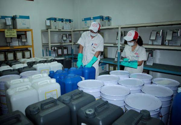 Sản xuất hóa chất có nguy cơ tai nạn, độc hại cao