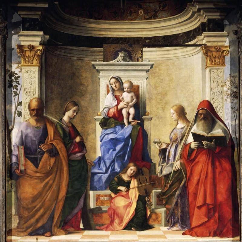 Pesaro Madonna - Titian.