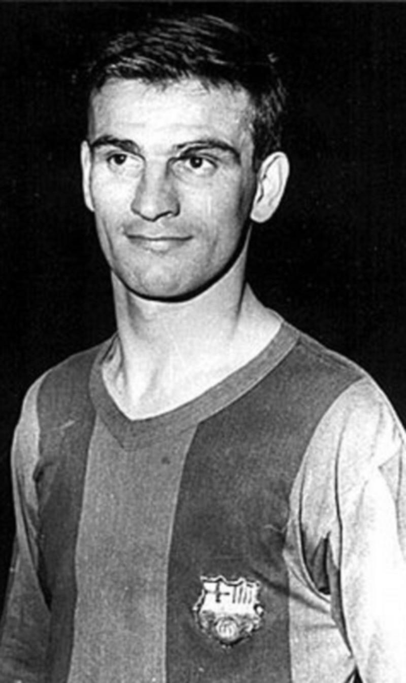 Hình ảnh Sándor Kocsis thời khoác áo CLB Barcelona