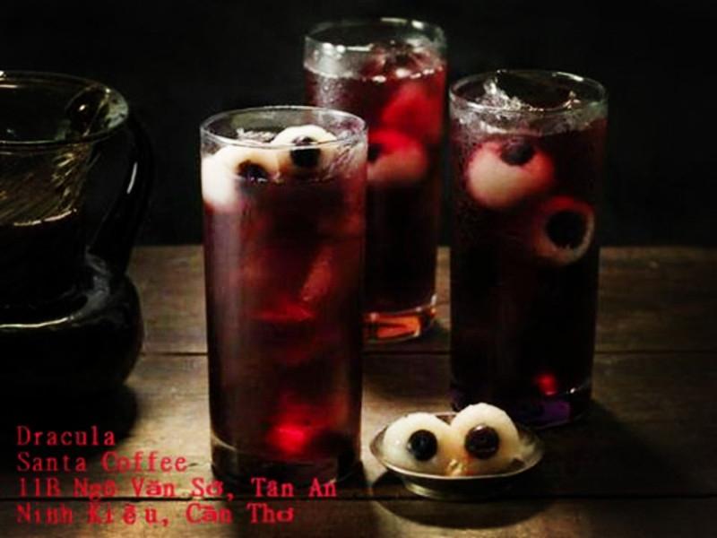 Món nước uống Darcula thú vị cho Halloween
