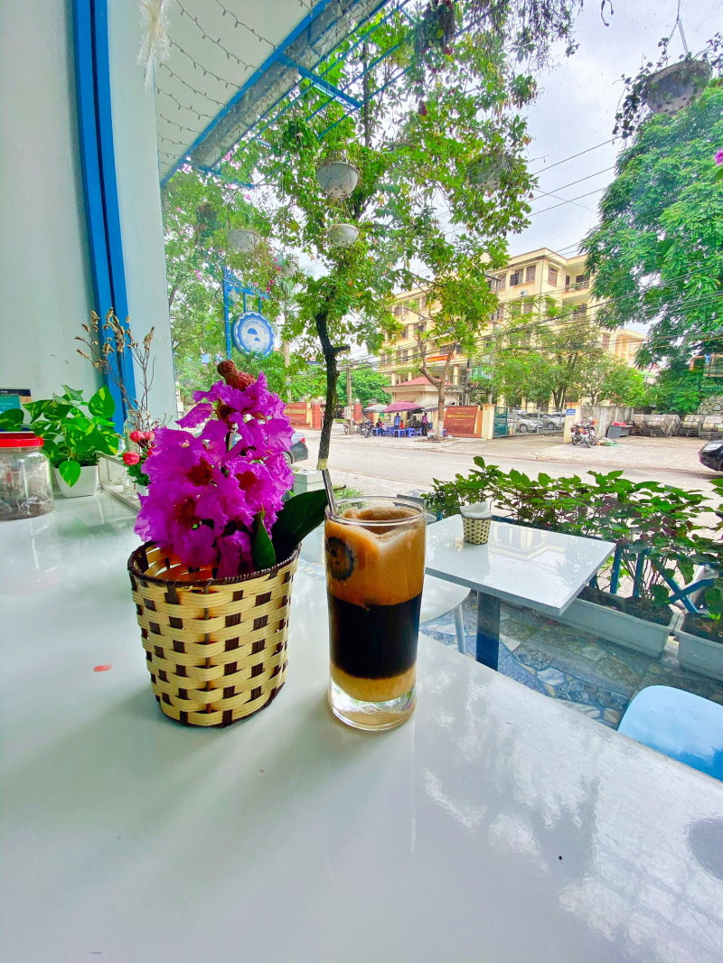 Santorini Coffee Thái Nguyên