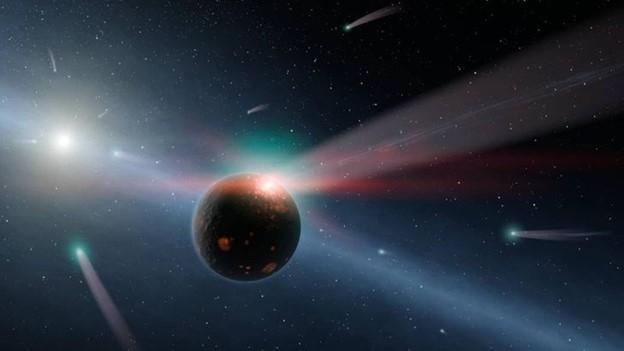 Sao Mộc và Sao Hải Vương đang tấn công Trái đất bằng sao chổi