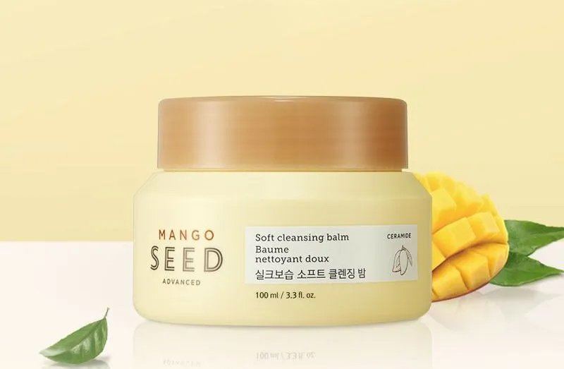 Sáp Tẩy Trang THEFACESHOP MANGO SEED SOFT CLEANSING BALM 100ml