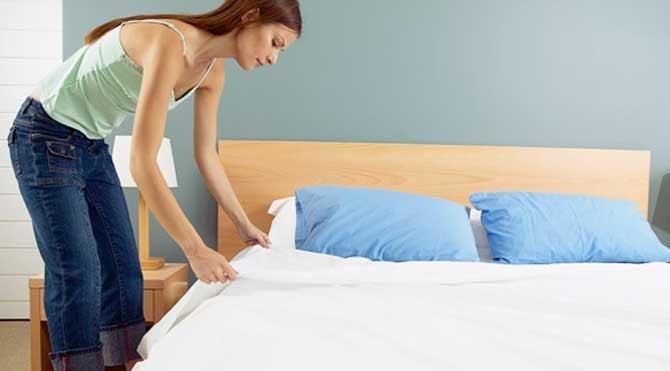 Chiếc giường êm ái sẽ luôn là lựa chọn hàng đầu để phục vụ cho giấc ngủ ngon hằng đêm