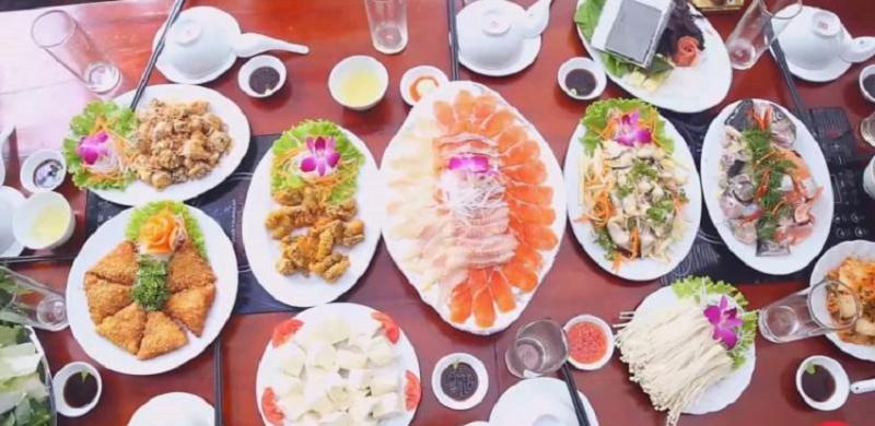 Attractive menu of Sapa Fish Restaurant