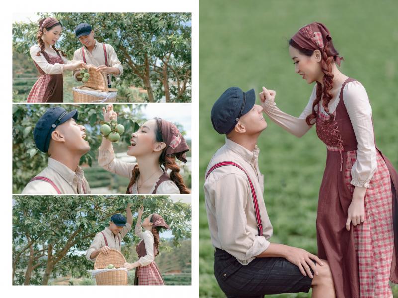Ảnh cưới Hàn Quốc Saranghae