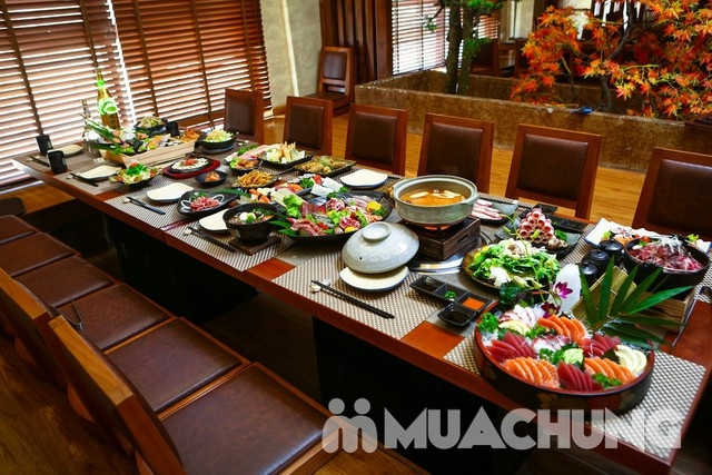 Buffet Lẩu nướng Sashimi BBQ Garden