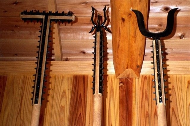 Sasumata là một binh khí gần gũi với các võ sĩ Nhật Bản