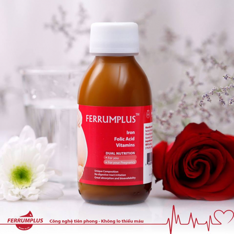 siro sắt Ferrumplus