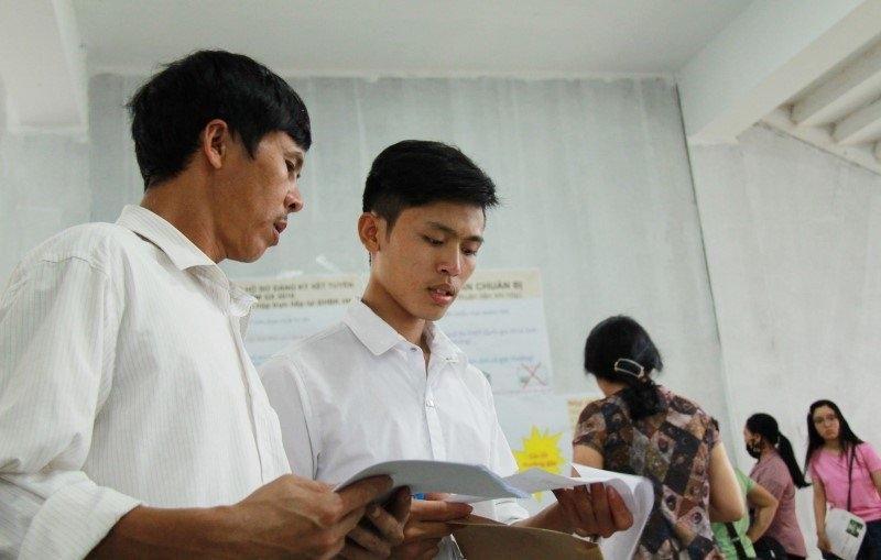 Thí sinh cần nộp Giấy chứng nhận kết quả thi để xác nhận nhập học