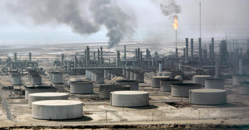 Xuất khẩu dầu mỏ là nguồn thu chính của Saudi Arabia.
