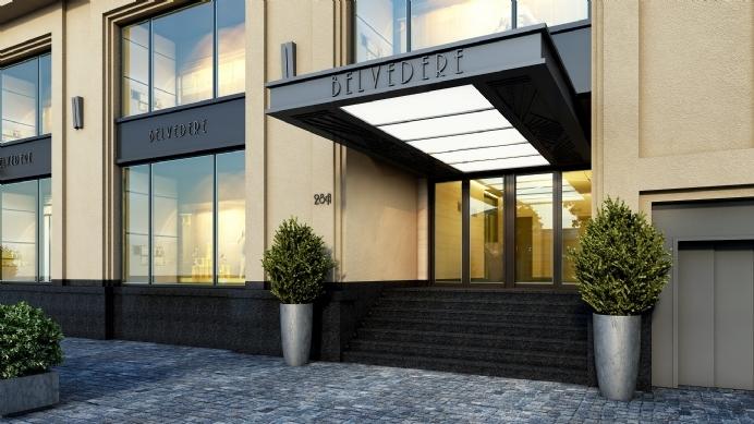 Belvedere là tòa văn Phòng hạng A đầu tiên ở Hà Nội có phong cách thiết kế được lấy cảm hứng từ Art Deco.