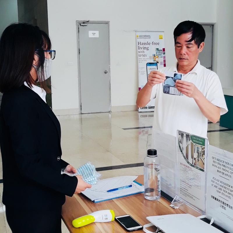 Đội ngũ quản lý tòa nhà của Savills Việt Nam được đào tạo bài bản để ứng phó trong nhiều hoàn cảnh