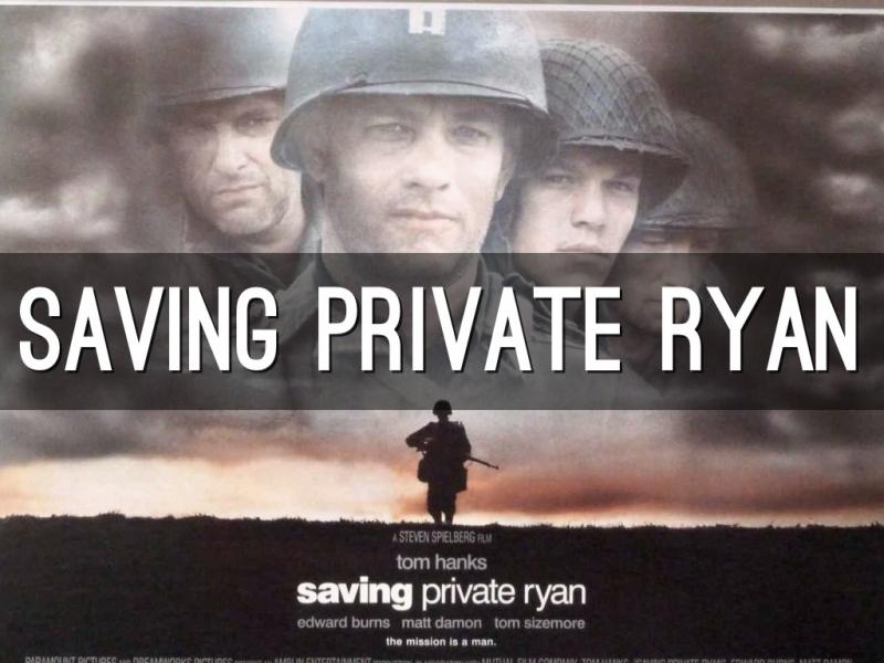 Saving Private Ryan là một bộ phim truyền cảm hứng về đề tài chiến tranh