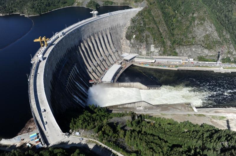 Đập Sayano–Shushenskaya (Nga) - 6,499 MW