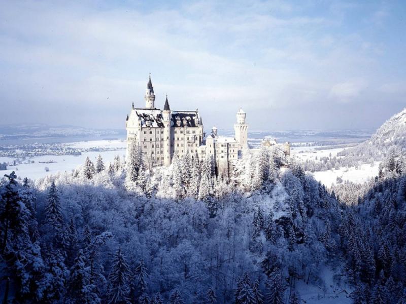 Tòa lâu đài trong bộ phim nổi tiếng
