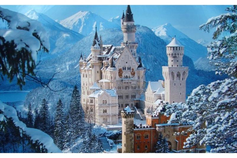 Schloss Neuschwanstein - đẹp như bức tranh cổ tích