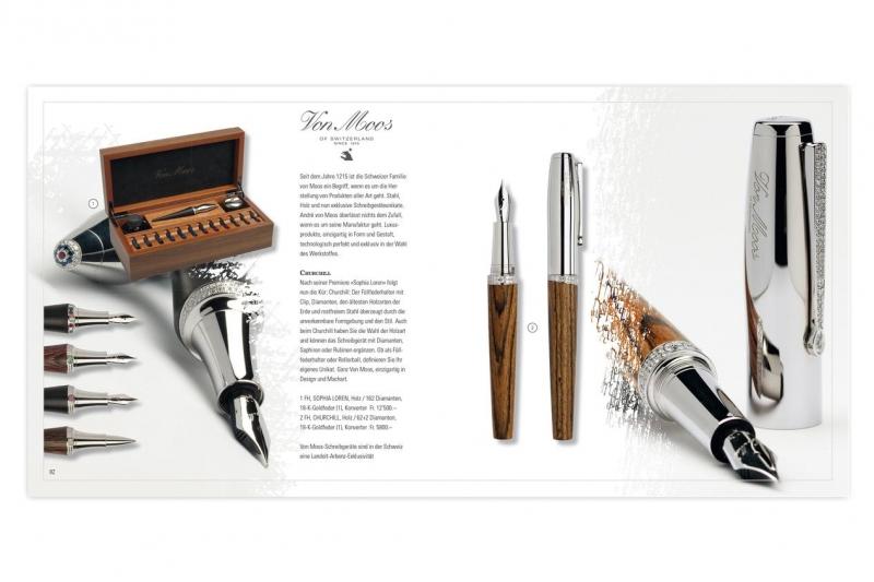 Bút của thương hiệu Schreibgeräte Maufaktur được làm từ nguyên liệu gỗ cao cấp và quý hiếm (Nguồn: Sưu tầm)