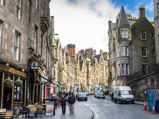 Đường phố Scotland