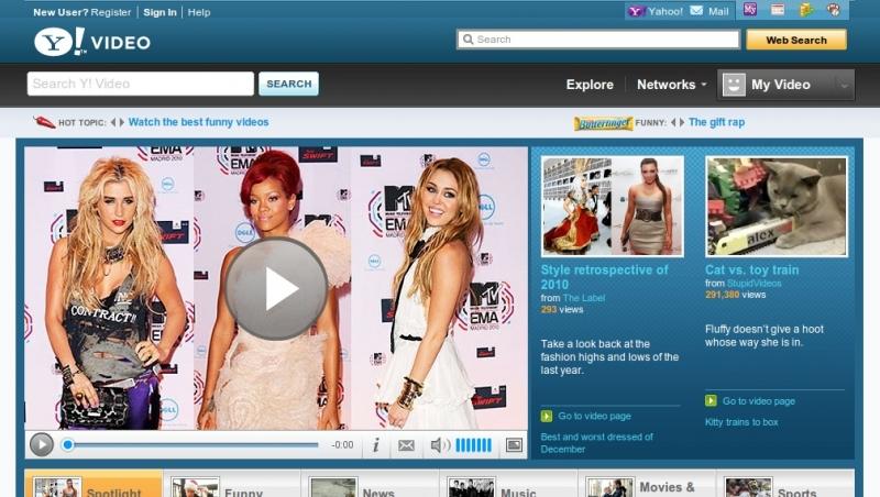 Video Yahoo hay Screen Yahoo được nhiều người biết đến là một chuyên trang xem video chất lượng cao full HD