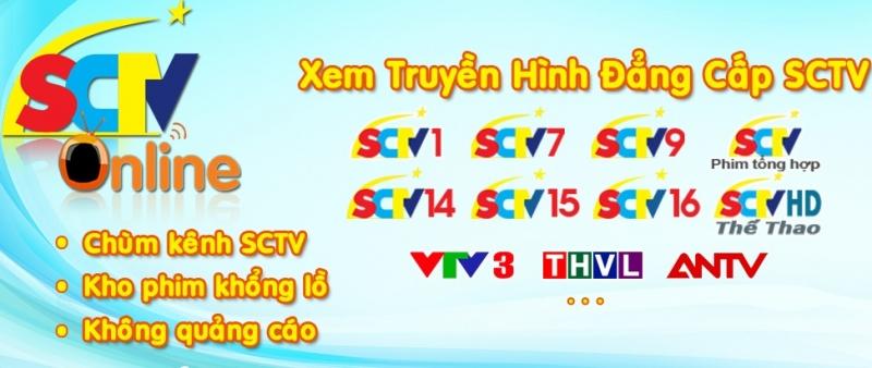SCTV ONLINE do Trung tâm truyền hình cáp Việt Nam (VTVCab) phát triển