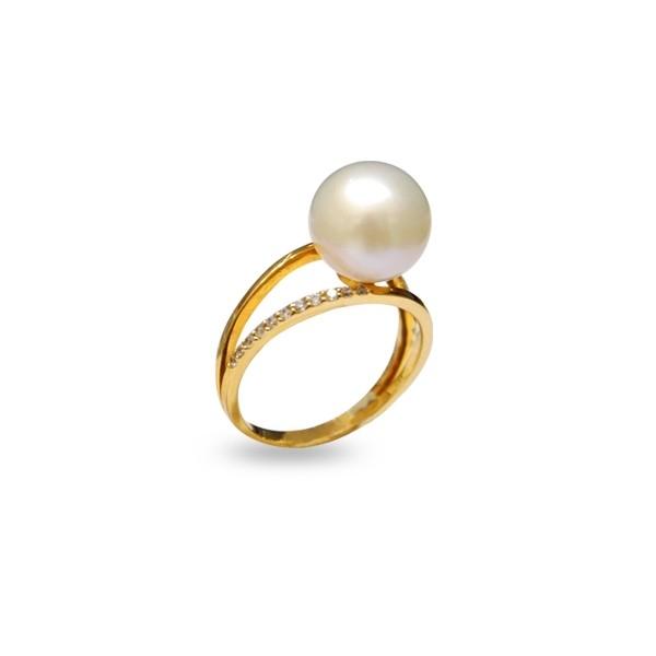 Nhẫn ngọc trai Ring Akoya 310004 (hình ảnh lấy từ website của Sea Pearl)