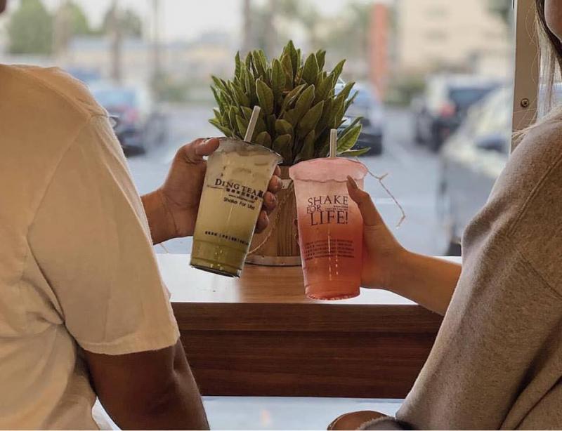 Ding Tea đã mang đến cho thực khách cảm giác thoải mái để thưởng thức những ly trà sữa chất lượng.