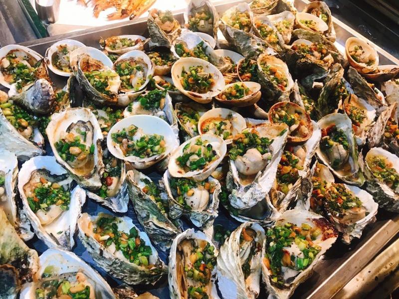 Những món hải sản hấp dẫn