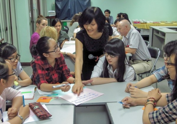 Một góc học tập tại Seameo Retrac