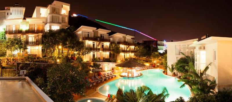 Seaside Resort với lối thiết kế đa dạng