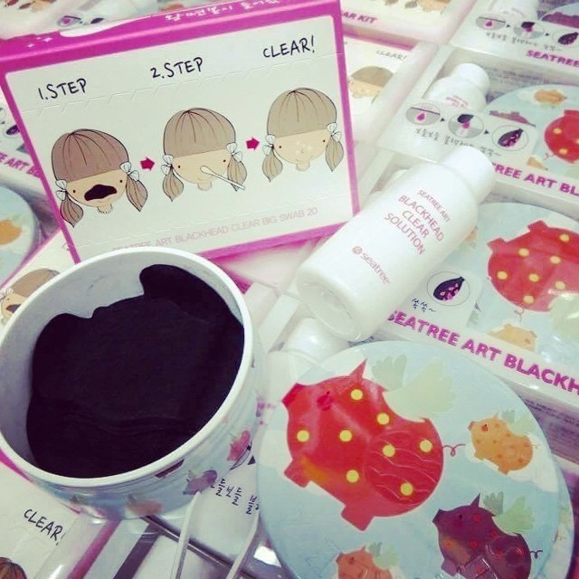 Seatree Art Blackhead Clear Solution