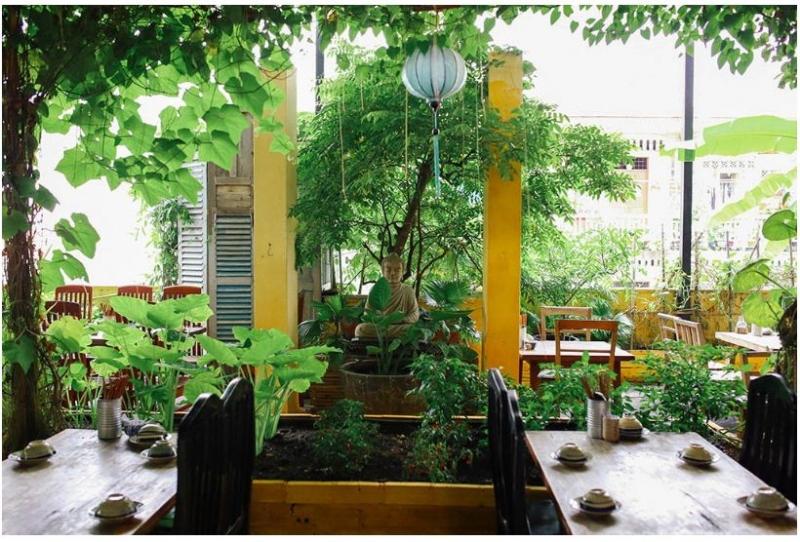 """""""Khu vườn bí mật"""" giữa lòng Sài thành với rất nhiều loại cây leo xanh mát"""