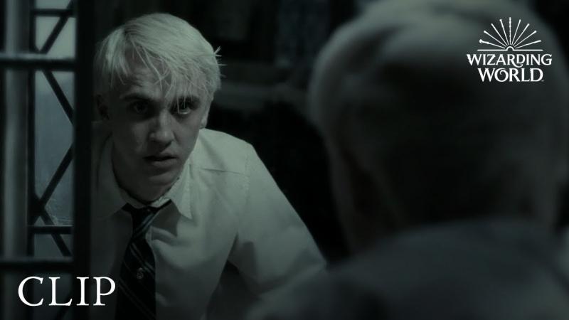 Draco Malfoy khi ăn trọn lời nguyền Cắt sâu mãi mãi