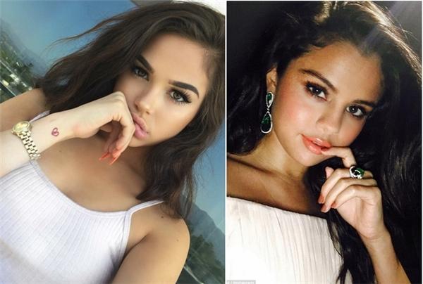 Bản sao của Selena Gomez được khen ngợi đẹp hơn bản chính