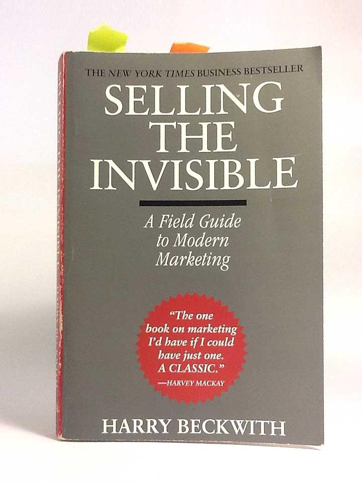 Selling the Invisible (Bán những thứ vô hình)