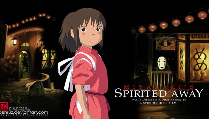 Sen và Chihiro ở thế giới thần bí