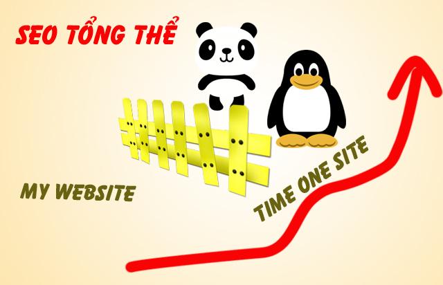 Seo  tổng thể Website lên top