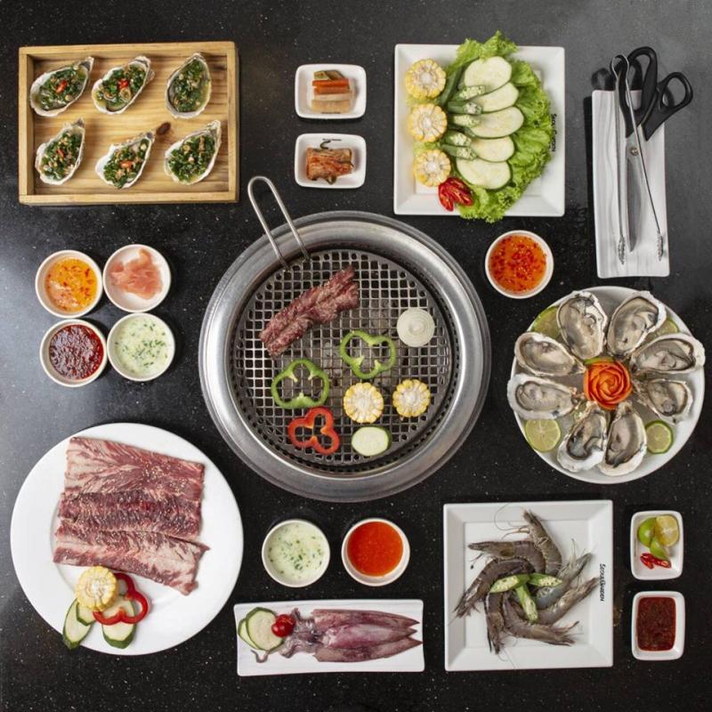 Nhà hàng Seoul Garden là mộ nhân vật không thể thiếu trong khi nhắc đến địa điểm ăn món nướng tại quận 3.
