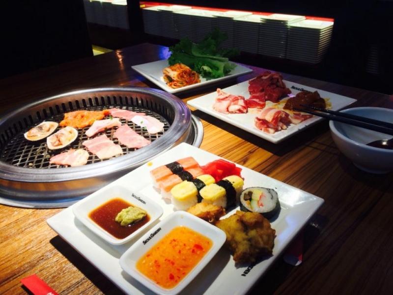Seoul Garden là nhà hàng buffet nên bên cạnh sườn nướng còn có rất nhiều món ăn khác.