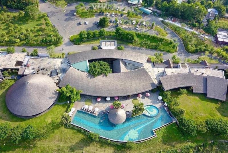 Serena Kim Boi Resort có thiết kế độc đáo