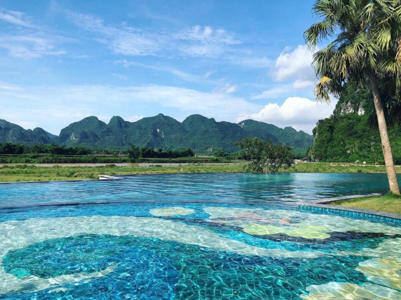 Hòa mình với thiên nhiên tại Serena Kim Boi Resort