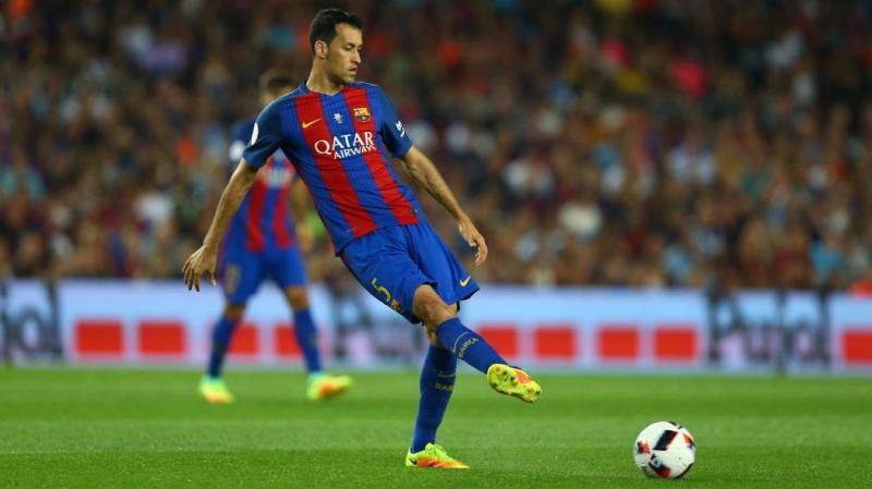 Busquets cực kì quan trọng trong lối chơi của Barca