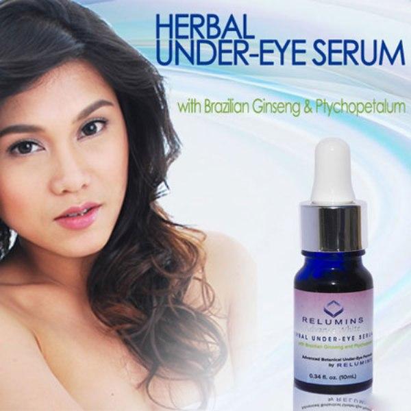 Relumins Herba Under Eye được chiết xuất từ thiên nhiên, đặc biệt là các loại dược liệu quá giúp kích thích máu lưu thông, giảm thâm đen do đông tụ máu.