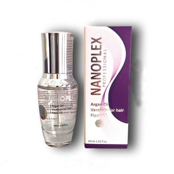 Serum dưỡng tóc phục hồi tóc hư tổn Nanoplex Argan & Vaccin Oil