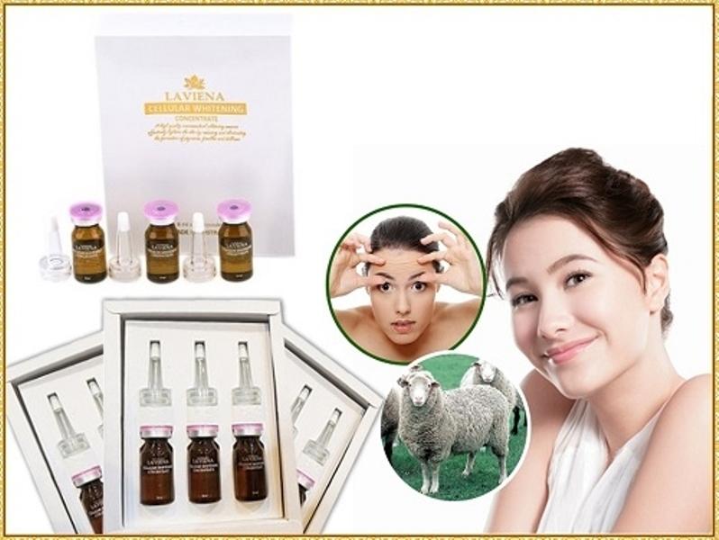 Serum Lariena Cellular Whiterningte là dòng sản phẩm hàng đầu tại Úc với công dụng làm mềm, mịn da, xóa mờ vết nám Concentra, tàn nhang, trị thâm, giảm nhăn da và đem lại làn da trắng hồng tự nhiên.