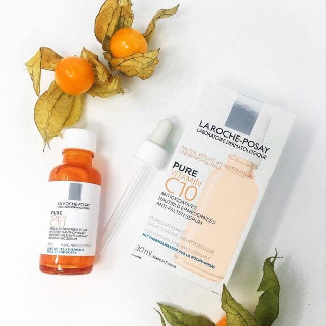 Serum dưỡng chất giúp làm sáng và giảm thâm nám Oure Vitamin C10 La Roche-Posay