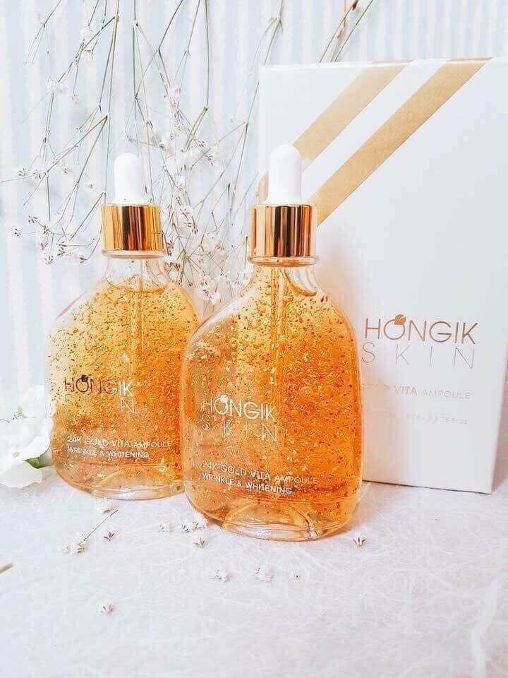 Serum tinh chất vàng non 24k Hongik Skin
