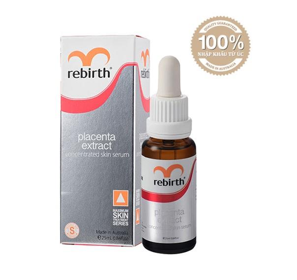 Serum trị nám chiết xuất nhau thai cừu Rebirth RM04