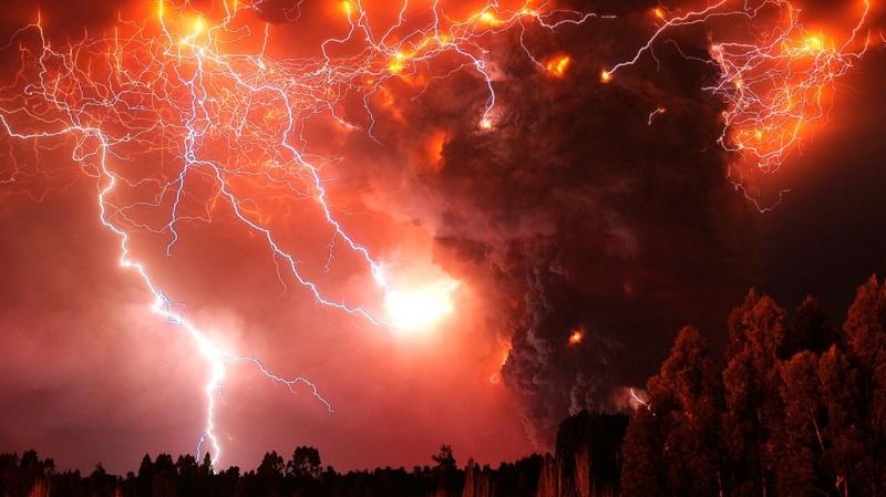 Sét núi lửa